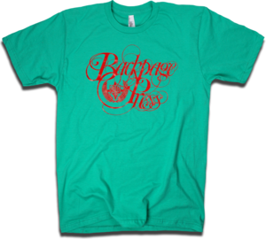 "Image of ""Classic Ink"" tee in Mint by Backpage Press"