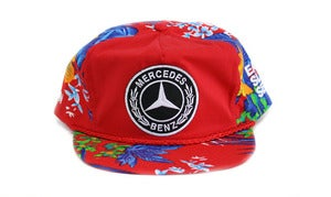 Image of BENZ HAWAIIAN SNAPBACK - RED
