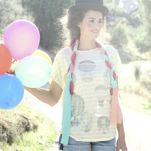 Image of CAMISETA GLOBOS