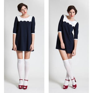 Image of Je Taime Dress - Navy