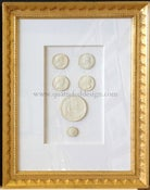 Image of In stock: special spring collection of framed intaglios, design as seen (6)