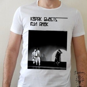 Image of T-shirt homme kodak ghosts run amok - Love
