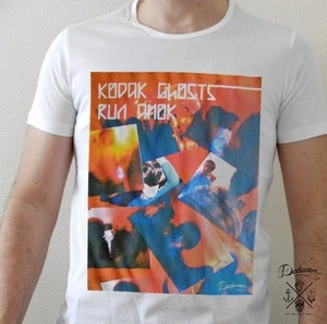 Image of T-shirt homme kodak ghosts run amok - Friendship