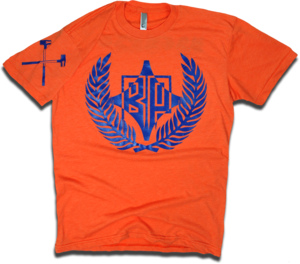 "Image of ""Orange Crush"" tee by Backpage Press"