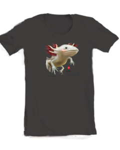 Image of Ajo Axolotl Womens T-shirt