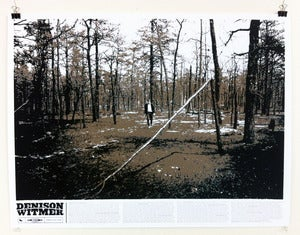 Image of &quot;Denison Witmer&quot; Limited Edition Screen Print Poster &amp; Digital Download