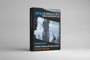 Image of VFX Workshops 3D Matte Painting with Adam Kuczek - LEARN AS YOU GO
