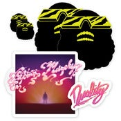 Image of CAPTAIN MURPHY STICKER PACK