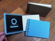 Image of Graham Robson hand-built sketchbook