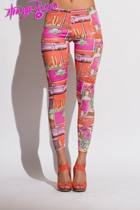 Image of Hollywood Beach Cutie Leggings