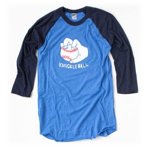 Image of Knuckleball Raglan