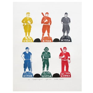 Image of Baseball Uniforms - Colors