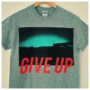 Image of 'GIVE UP' Grey Tshirt