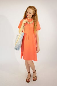 Image of Melon Tee Dress