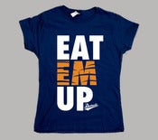 Image of Women's Eat Em Up Detroit Tigers T-Shirt