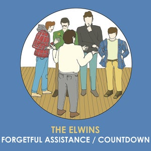 Image of The Elwins - Forgetful Assistance/Countdown 7""