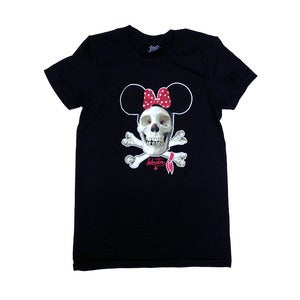 Image of IN4M - WOMENS DEAD MOUSE TEE (BLK)