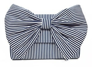 Image of Nautical Stripe Clutch Bag