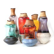 Image of Pia Wustenberg: Raku Fired Stacking Vessels