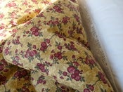 Image of Emmie Golden Floral Single Piped Edge Eiderdown