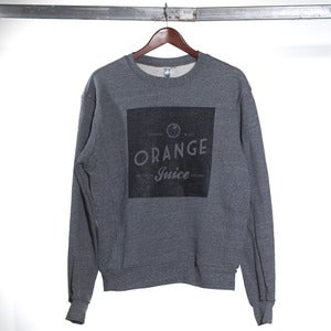 Image of We Are Orange Juice Crewneck Sweater