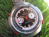 Image of MEGA-MEGA RARE HAMILTON CHRONOMATIC COUNTDOWN GMT STEEL -