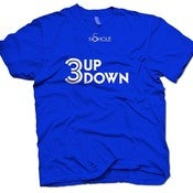Image of *NEW RELEASE* MENS 3UP 3DOWN T-SHIRT (Toronto Blue Jays)