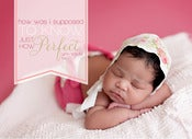 Image of Peahead Prints: Simply Stated Birth Announcement Template 7