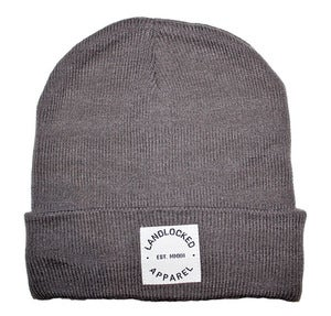 Image of Grey Slouch Beanie