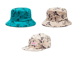 Image of Undefeated Duck Bucket Hat and Duck Camp Cap