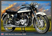 Image of 1960_Norton_Dominator_650_old_motorcycle_poster