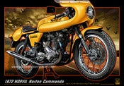Image of 1972_NORVIL_Norton_Commando_motorcycle_poster