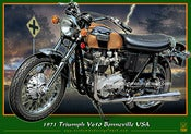 Image of 1971_Triumph_V650_Bonneville_USA_mototrcycle_poster
