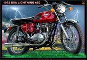 Image of 1972_BSA_Lightning_650_motorcycle_poster