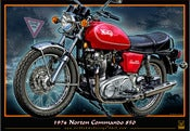 Image of 1974_Norton_Commando_850_iron_horse_old_motorcycle_poster