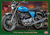 Image of 1974_Norton_Commando_850s_Classic_motorcycle_poster_print
