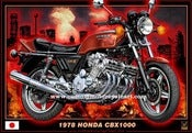 Image of 1978 Honda CBX1000_motorcycle_art_poster