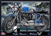 Image of Triton_cafe_racer_Triumph_art_Motorcycle_poster