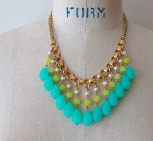 Image of Carnival Necklace {see more colours}