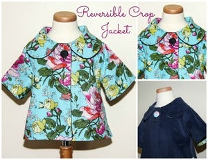 Image of Reversible Crop Jacket