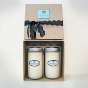 Image of Giftpack 2 large hand poured scented soy candles