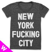 Image of NEW YORK FUCKING CITY (BLACK) (WOMEN)