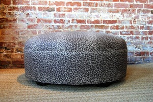 Image of Leopard Ottoman / Coffee Table