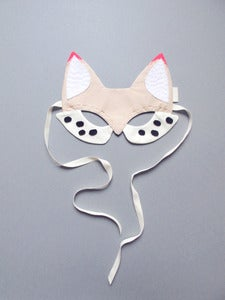 Image of Fox Mask {White}