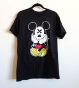 Image of SLOTH'D Mouse Black T-Shirt