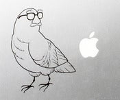 Image of Pigeon in Disguise Vinyl Decal