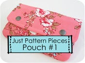 Image of Just Pattern Pieces - Pouch #1