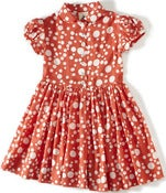 Image of camping dress-tangerine