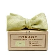 Image of kiwi linen {bow tie}