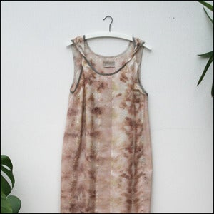 Image of hand dyed Dharmette Dress